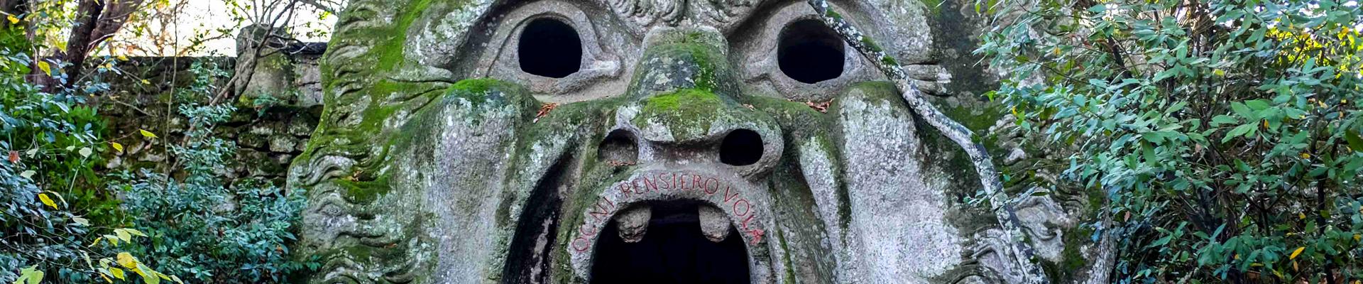Parco dei mostri Bomarzo - Il Meleto